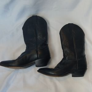Justin Boots 4903 Black Cowgirl Womens Cowboy 7.5